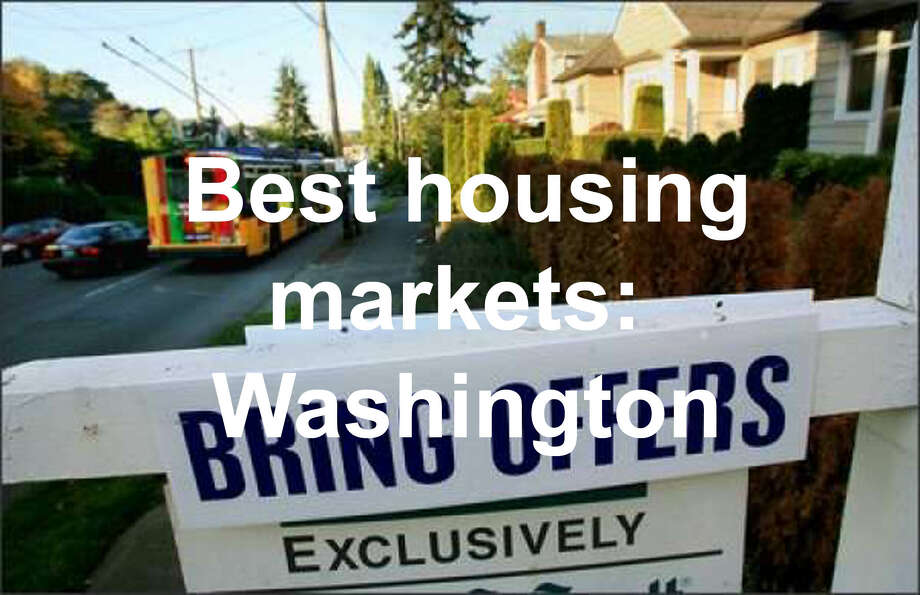 Seattle is well-known for its hot housing market, but what about other, smaller cities around the state? As it turns out, those markets may be far healthier overall, at least according to a new ranking from SmartAsset, a home and finance website. We gathered the 10 healthiest markets in the state in the following slides. They were ranked by five categories: Average years living in home, average percentage of homes with negative equity, Percentage of homes decreasing in value, average days on market, and home costs as a percentage of median income. Photo: SeattlePI File