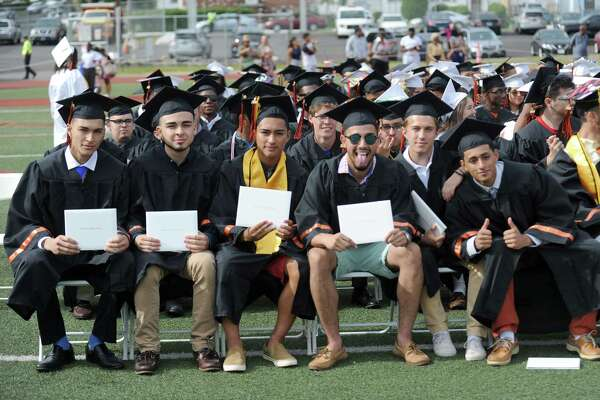Photos from the Stamford High School class of 2018 commencement ceremony in Stamford High School's Boyle Stadium on Friday, June 22, 2018.