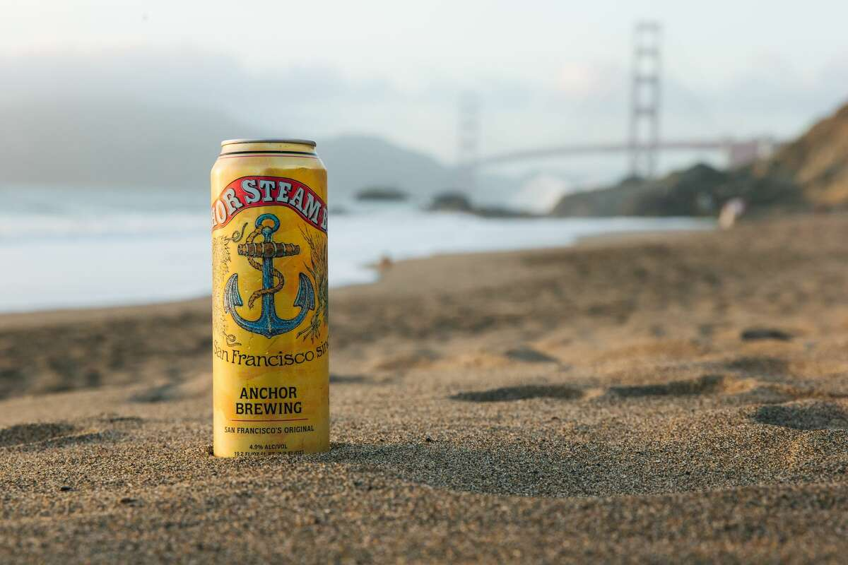 San Francisco's Anchor Brewing will debut their flagship California common, Steam, in 19.2-oz. cans.