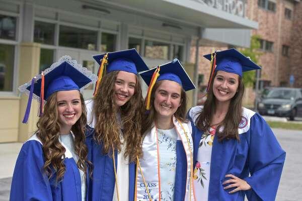 Danbury High School 2018 Graduation, Friday evening, June 22, 2018, at Danbury High School, Danbury, Conn.