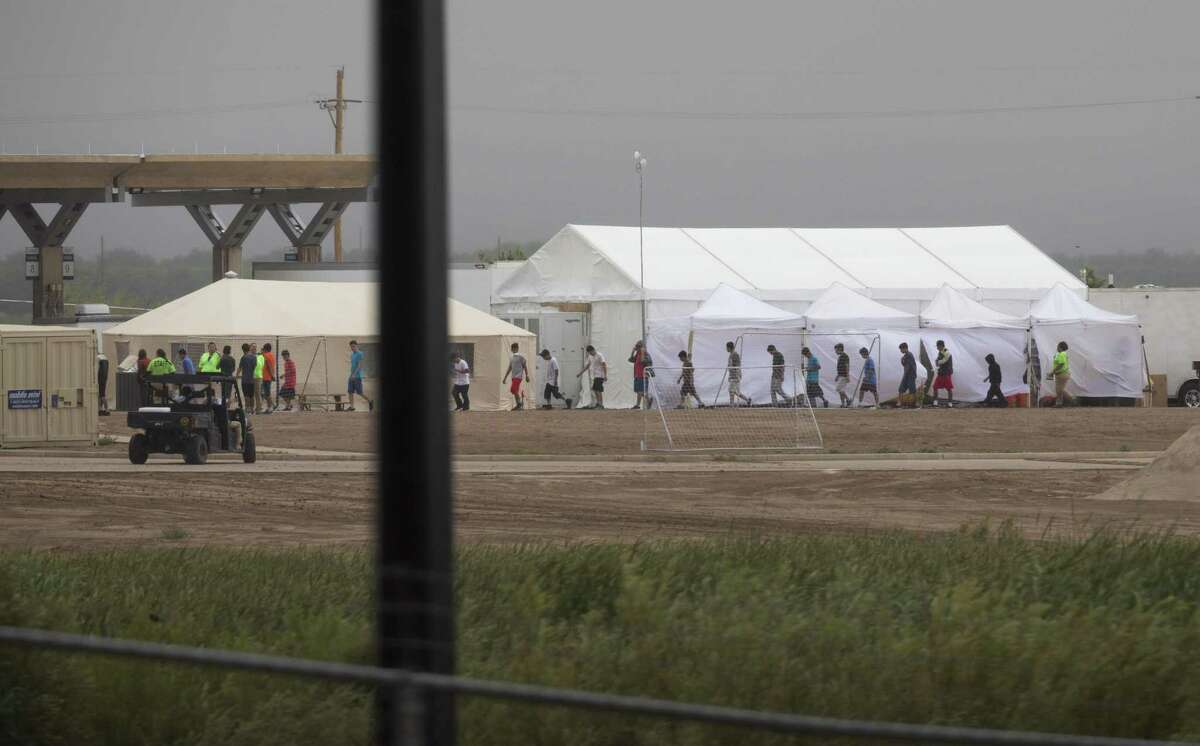 BCFS Health and Human Services is running the tent city in Tornillo where immigrant children are living.