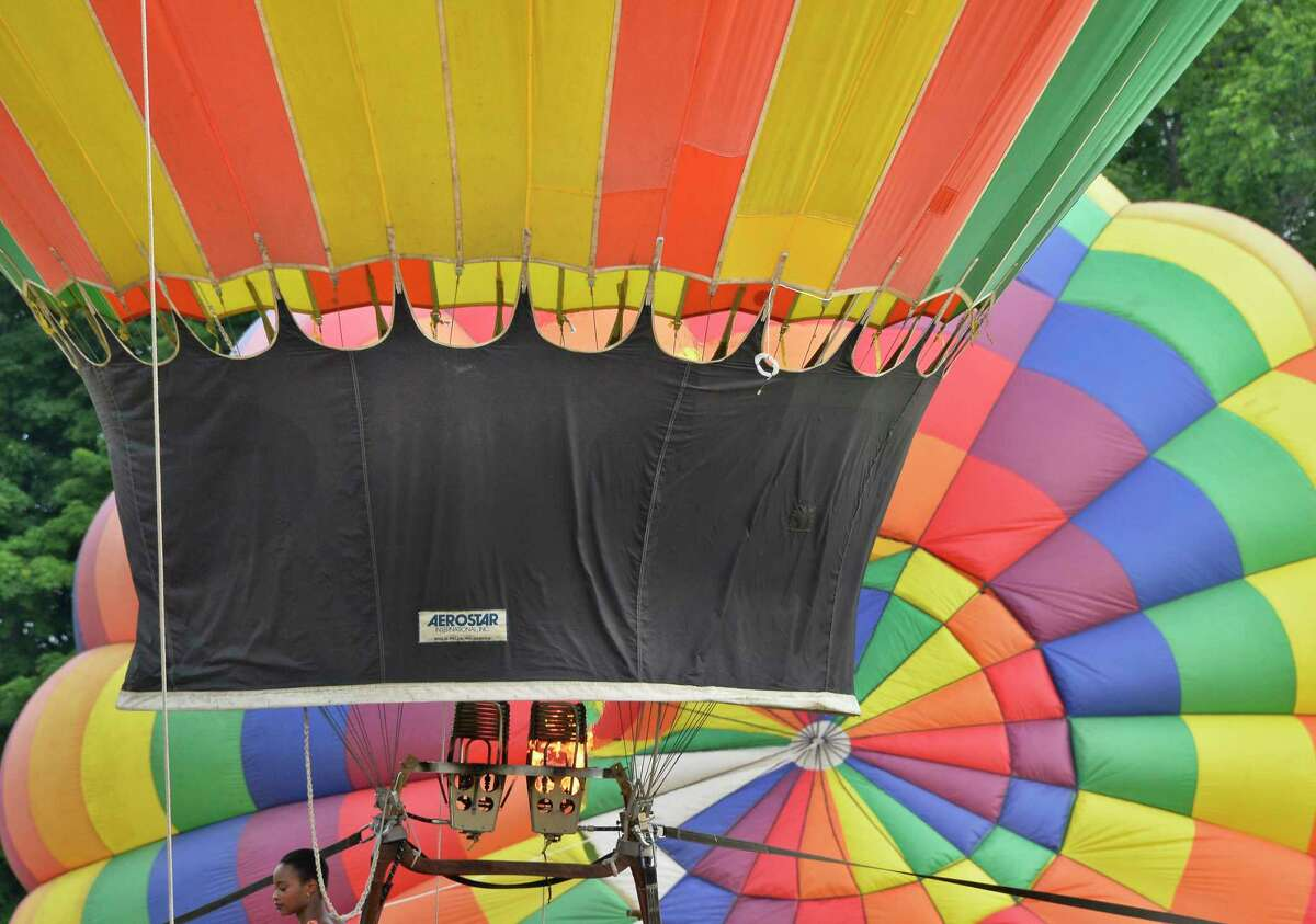 It's a kaleidoscope of colors as hot air balloons take flight during the Saratoga Balloon and BBQ Festival all weekend at the Saratoga County Fairgrounds in Ballston Spa. Details. Read more.