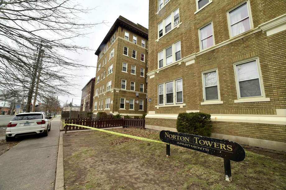 Norton Towers Apartments, at 66 Norton St. in New Haven, was condemned and evacuated in February. Photo: Peter Hvizdak / Hearst Connecticut Media File / New Haven Register