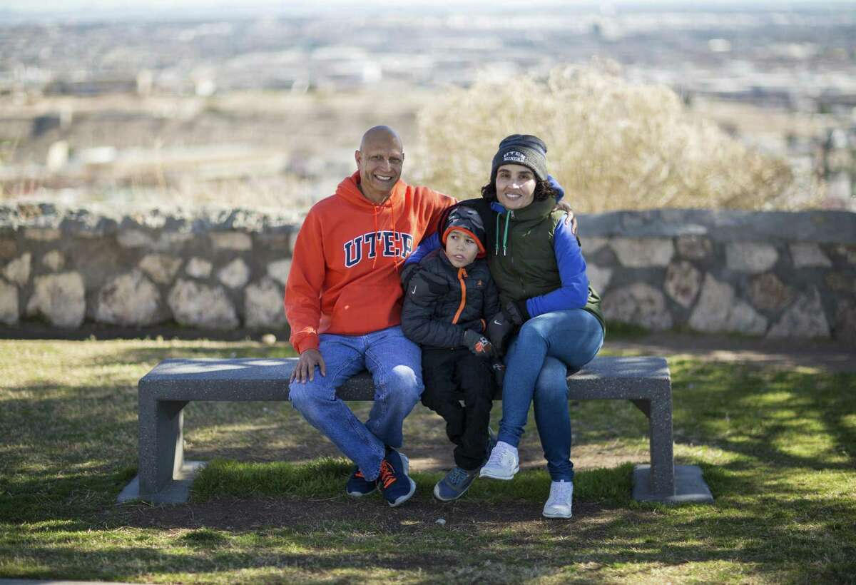 FILE Martin and Rosanna Armendariz in El Paso with their son, Octavio, who has autism may lose medical coverage because the Trump administration is abandoning the Affordable Care Act's mandate that insurance companies cover preexisting conditions.