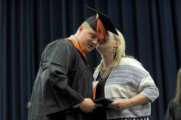 Ridgefield High School Class of 2018 graduates Friday, June 22 at Western Connecticut State University's O'Neill Center in Danbury.