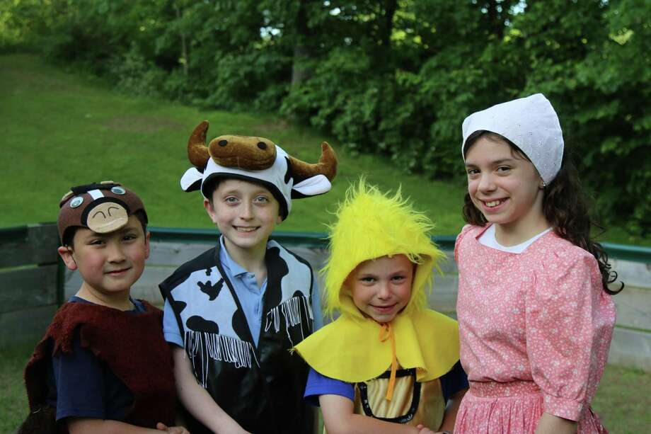 """Charlotte's Web"" kicks off the return of Fairy Tale Theater at Workspace Education in Bethel on July 7. Photo: Priscilla Squiers / Contributed Photo"