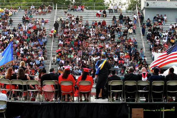 Central High School's Class of 2018 Graduation Exercises in Bridgeport, Conn., on Friday, June 22, 2018.