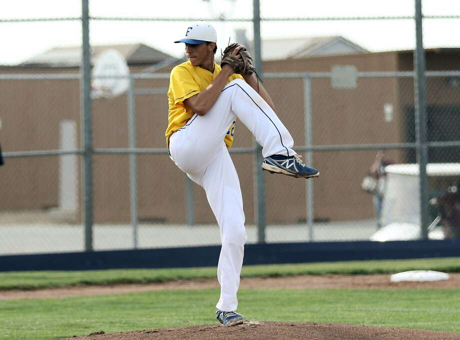 Foothill's Brett  Hansen, a Giants draft pick, is expected to pitch for Vanderbilt. Photo: Angel Garcia Jr. / MaxPreps