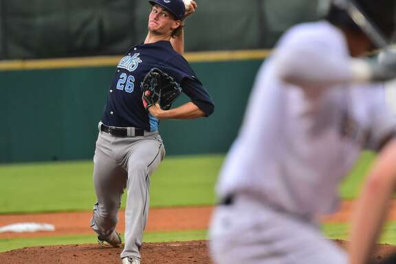Former Alamo Heights star Forrest Whitley of the Corpus Christi Hooks boasts a 0.00 ERA and 18 strikeouts since returning from a 50-game suspension.