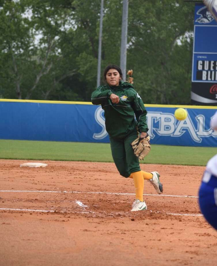 Rising LCC sophomore Melinda Beltran, who took a line-drive hit to the face during an April game for the Palominos, says mental hurdles are her biggest challenge to returning to softball. Photo: Courtesy Of Nicole Grande