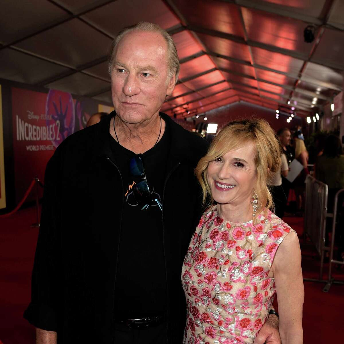 """Craig T. Nelson and Holly Hunter, shown at the premiere of """"Incredibles 2,"""" reprise their roles from the original movie."""