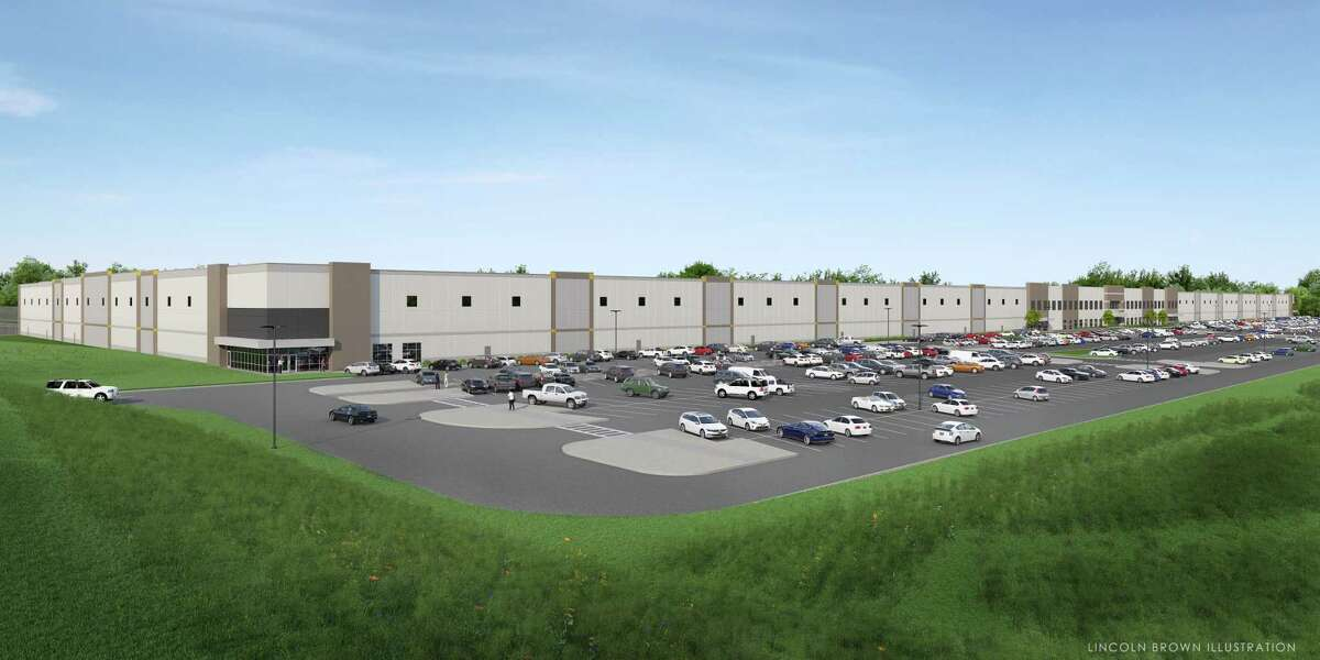 A photo image rendering of what the Amazon fulfillment center planned for Route 9 in Schodack would look like. At its first public hearing on a possible $13 million tax break package in July 2018, the project's application wasn't complete. A new state rule would require that all tax break applications be posted to the websites of local industrial development agencies.