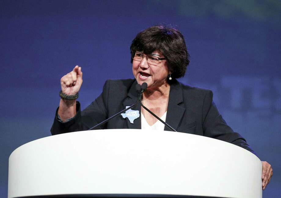Texas gubernatorial candidate Lupe Valdez speaks at the Texas Democratic Convention Friday, June 22, 2018, in Fort Worth, Texas. (AP Photo/Richard W. Rodriguez) Photo: Richard W. Rodriguez, FRE / Associated Press / FR170526 AP