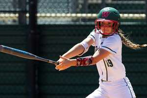 The Woodlands' Kayla Falterman was one of three Lady Highlanders selected to the TSWA all-state teams.