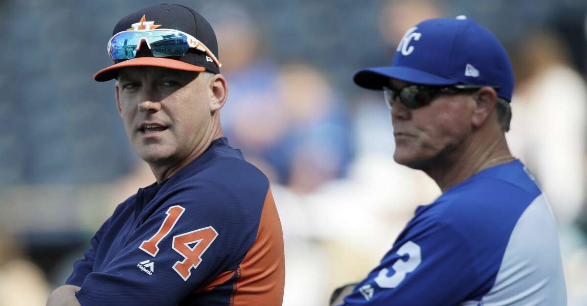 PHOTOS: Astros game-by-game Less than one month before he manages the American League team during the All-Star Game, A.J. Hinch still reflects on his first flirtation with the Midsummer Classic three years ago, when Royals manager Ned Yost invited him to join his AL coaching staff. Browse through the photos to see how the Astros have fared through each game this season.