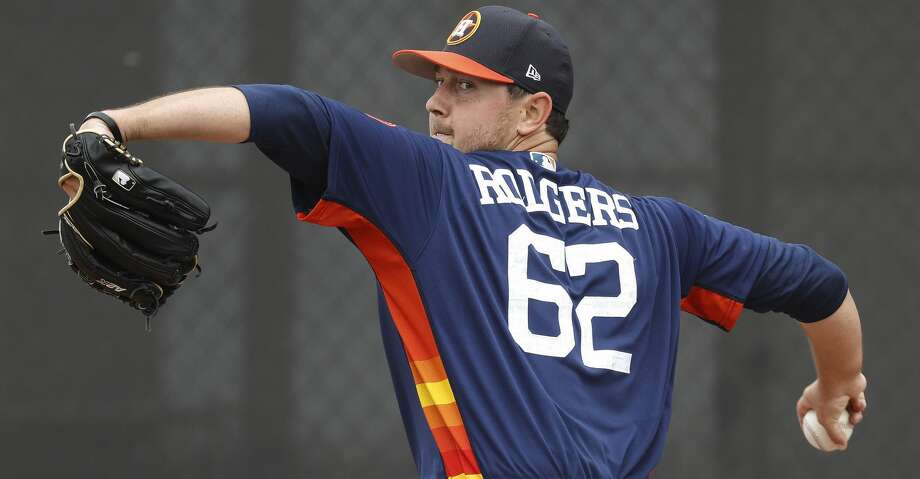 Brady Rodgers, 27, was named the Pacific Coast Pitcher of the Year and Astros' Minor League Pitcher of the Year in 2016. Photo: Karen Warren/Houston Chronicle