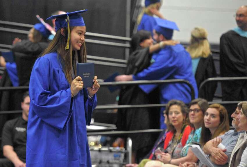 Brookfield High School 2018 Graduation, Saturday, June 23, 2018, at The O'Neill Center, Western Connecticut State University, Danbury, Conn.
