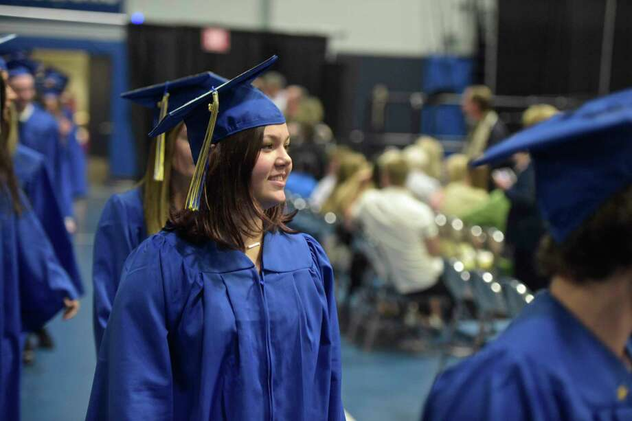Brookfield High School 2018 Graduation, Saturday, June 23, 2018, at The O'Neill Center, Western Connecticut State University, Danbury, Conn. Photo: H John Voorhees III, Hearst Connecticut Media / The News-Times
