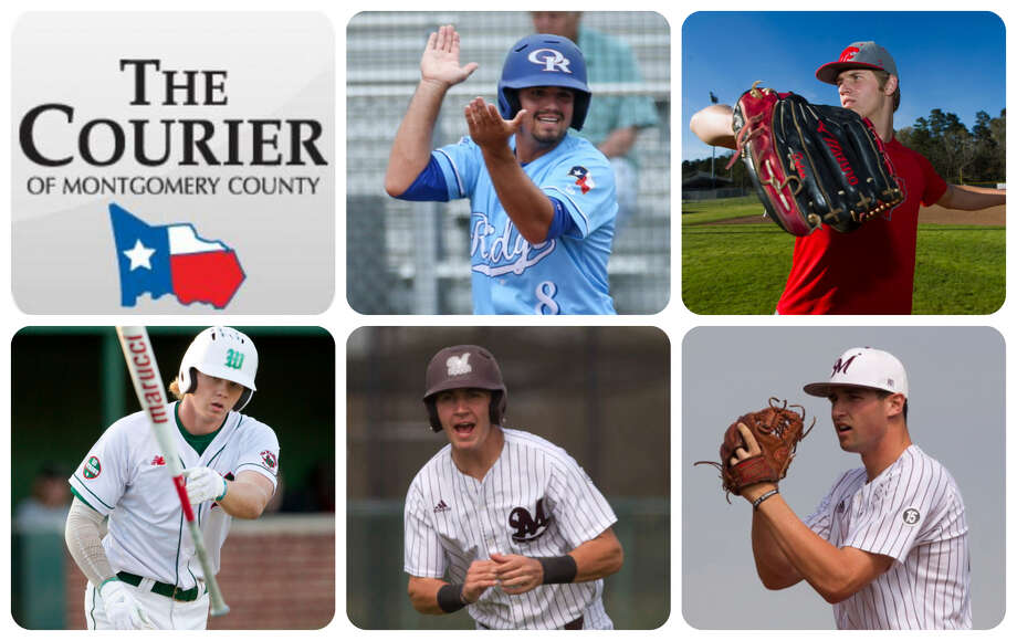 Oak Ridge's Logan Letney, Splendora's Dylan Johnson, The Woodlands' Will Swope, Magnolia's Jordan Groshans and Magnolia's Adam Kloffenstein are The Courier's nominees for Player of the Year.