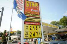 Regular gasoline for $2.43 a gallon at the Star Fuels at 350 Jennings Road in Fairfield, Conn. on Monday, August 31, 2015.