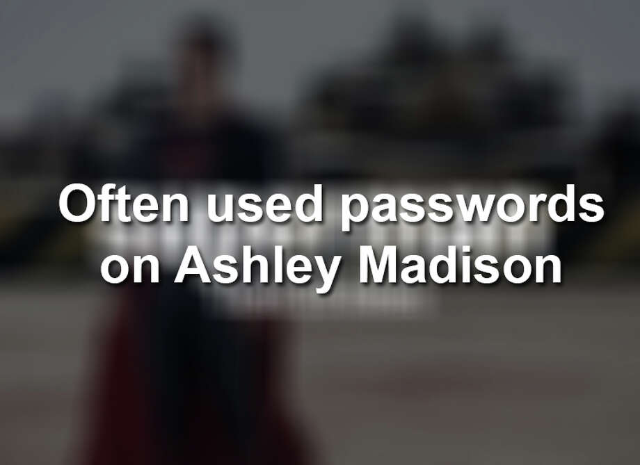 After the 2015 Ashley Madison hack, these were revealed as some of the worst passwords.