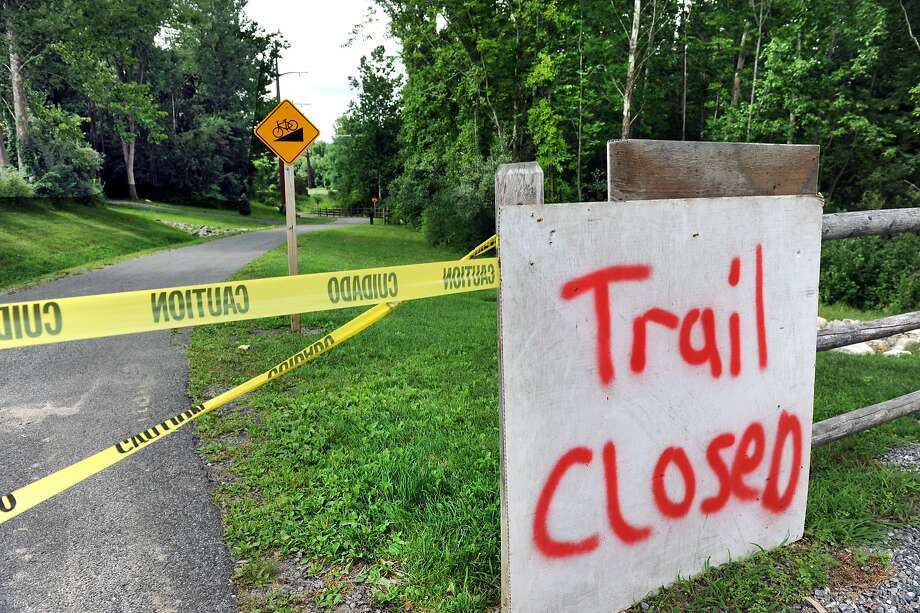 The Still River Greenway trail in Brookfield is closed during construction.