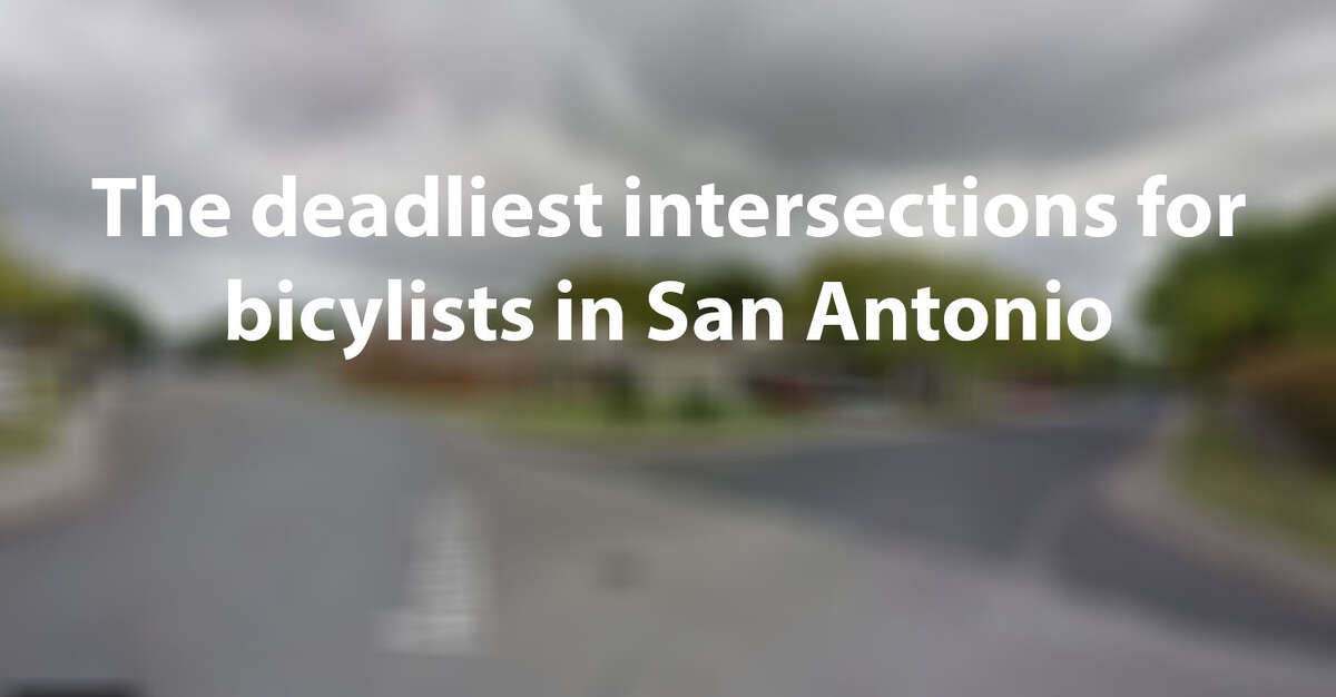 Between January 2013 and June 2018, more than 1800 collisions occurred between vehicles and bicyclists in San Antonio. Twenty collisions resulted in fatalities. Click ahead to see the 20 intersections that had fatalities. (Google Maps Screenshot)