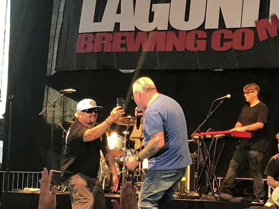 Smash Mouth calls Guy Fieri onstage during Petaluma show
