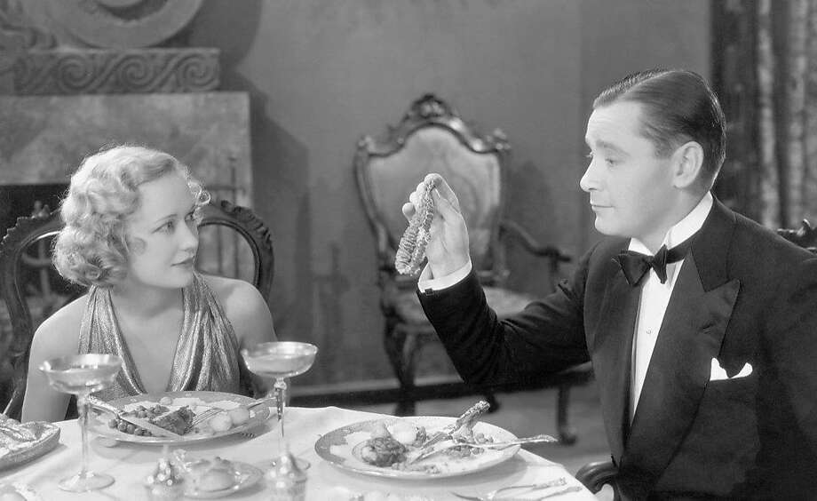 "Miriam Hopkins and Herbert Mar shall in ""Trouble in Paradise"" (1932). Photo: Paramount Pictures 1932"