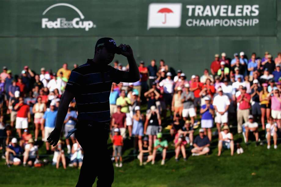 The 2018 installment of the Travelers Championship raised $1.8 million for 130 nonprofits in Connecticut, according to title sponsor The Travelers. (Photo by Tim Bradbury/Getty Images) Photo: Tim Bradbury / Getty Images / Internal
