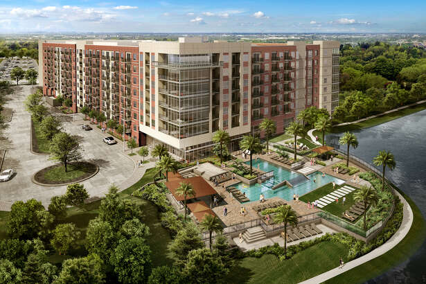 The Howard Hughes Corp. is developing a second apartment community at Hughes Landing along Lake Woodlands. Opening is planned in 2020.