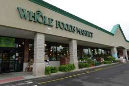 Whole Foods Market in June 2017 on the Post Road West in Westport, Conn.