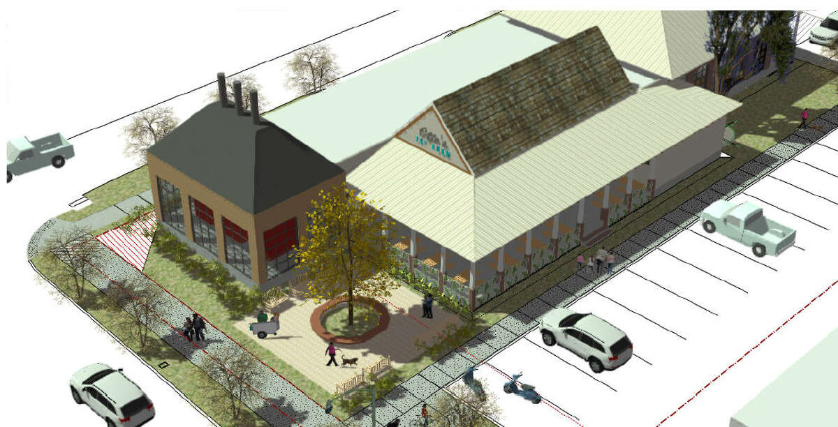 This week a representative from Otto's Barbecue & Hamburgers shared renderings of what its brick-and-mortar location will look like along Durham Drive near Washington Avenue once its completed within the next year.