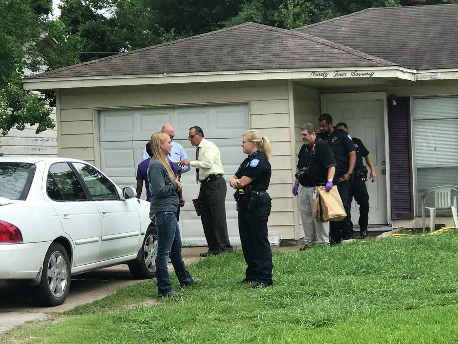 Police are investigating reports of a shooting on McLean Street in Beaumont. Photo: Kim BrentJune 25, 2018