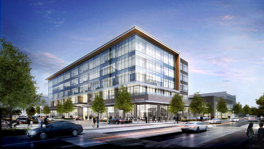 A joint venture led by Patrinely Group, and including USAA Real Estate and CDC Houston, announced the ground-breaking of the 149,600-square-foot CityPlace 1 office building at 1700 City Plaza Drive, Spring. Photo: Patrinely Group