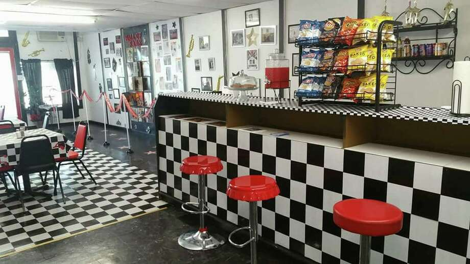 OnLive Walk of Fame Cafe owner April Ward claims to have spotted a paranormal figure in her cafe's surveillance video, prompting her to temporarily shut down the cafe. She re-opened Monday with a paranormal theme.  Photo: Courtesy Of OnLive Walk Of Fame