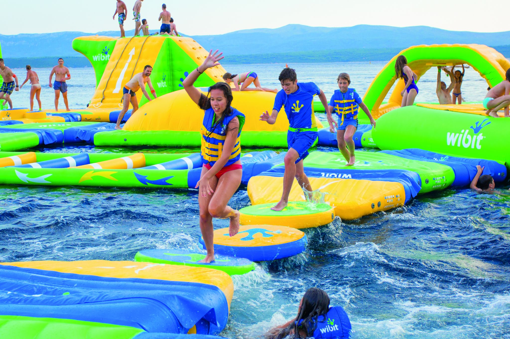 Floating water park opening on Lake Travis just in time