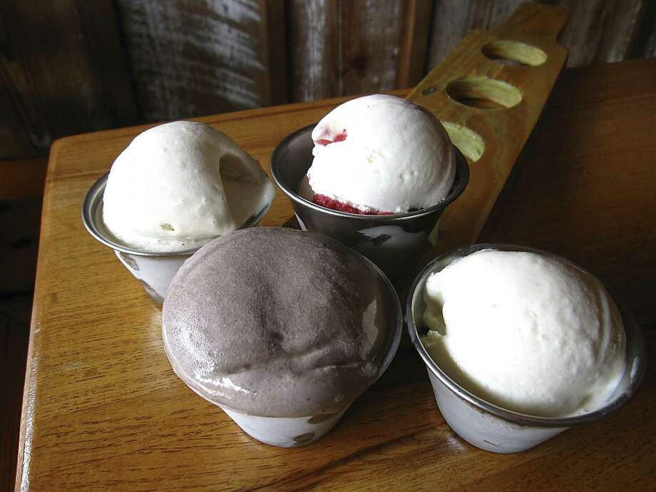 Alcohol-infused ice cream from Boozy's Creamery & Craft. The business has moved from its former location on South Alamo Street to 711 S. St. Mary's St. and is open again for business. Photo: Staff File Photo