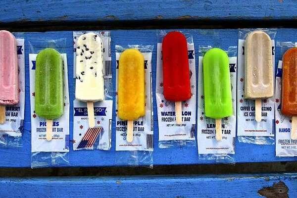 Paletas from El Paraiso Ice Cream.