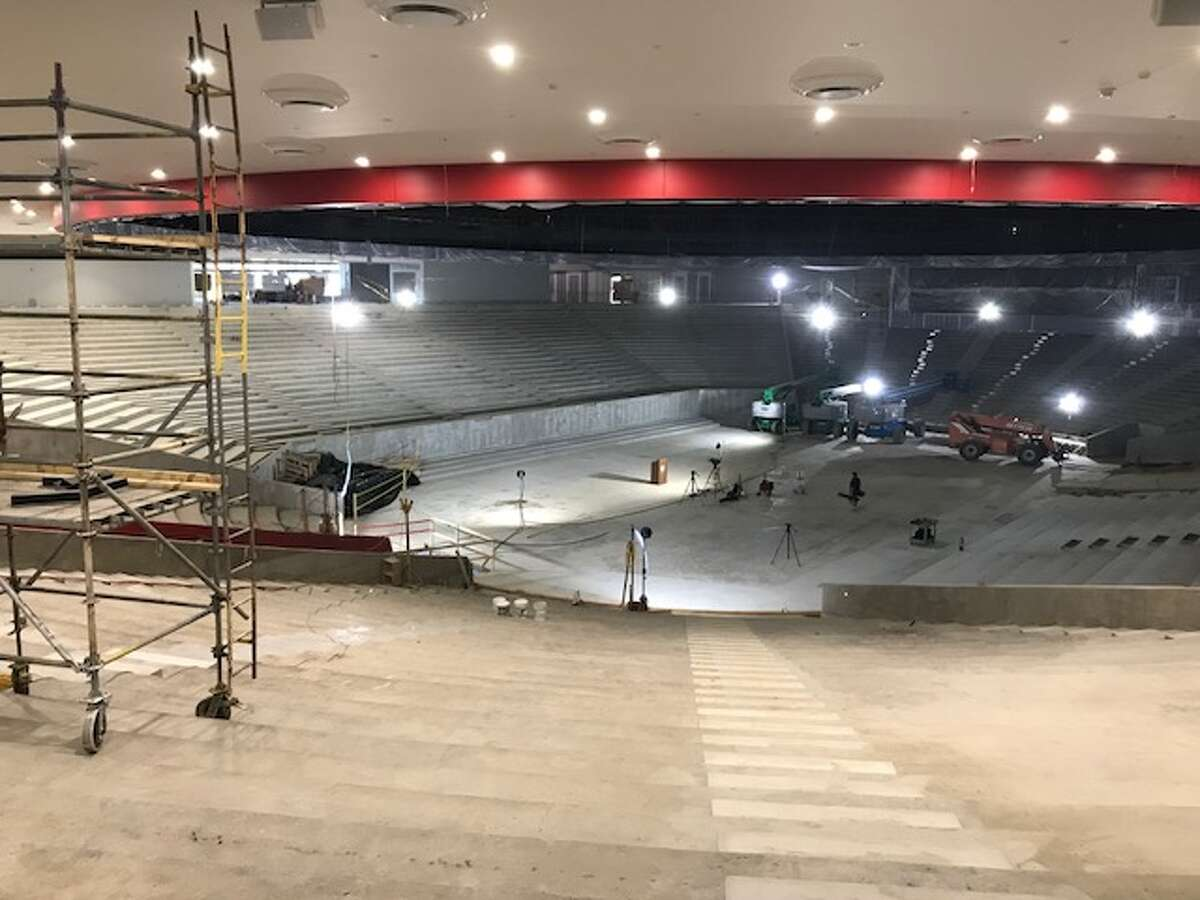 A look at the Fertitta Center, which is scheduled to open Dec. 1 during a game between the University of Houston and Oregon, the school announced Monday.