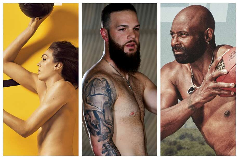 PHOTOS: A look at the 10 different covers for this year's ESPN The Magazine's Body Issue (WARNING: Graphic images)