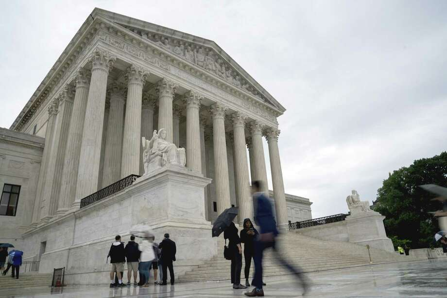 The Supreme Court in Washington, June 22, 2018. The court ruled that American Express did not violate antitrust laws by insisting that merchants not encourage customers to use other credit cards. Photo: ERIN SCHAFF /NYT / NYTNS