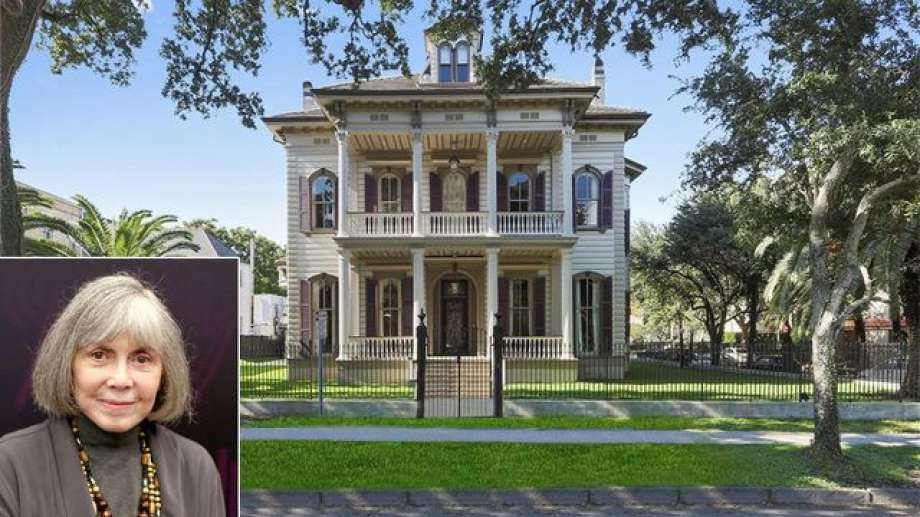 "A Victorian mansion once owned by novelist Anne Rice has come back on the market, as a ""magnificently restored"" New Orleans home Photo: Realtor.com"