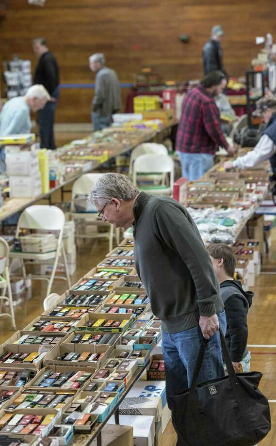 The Southern Connecticut Model Train Show at the Eastern Greenwich Civic Center on March 13, 2016. The town plans to replace the civic center in the 2019-20 fiscal year. Photo: Hearst Connecticut Media File Photo / Stamford Advocate Freelance