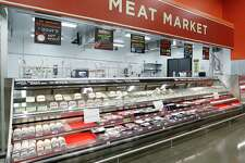 The meat market inside the new H-E-B store, Monday, June 25, 2018, in Bellaire. It's the first two-story H-E-B to open in the Houston area.