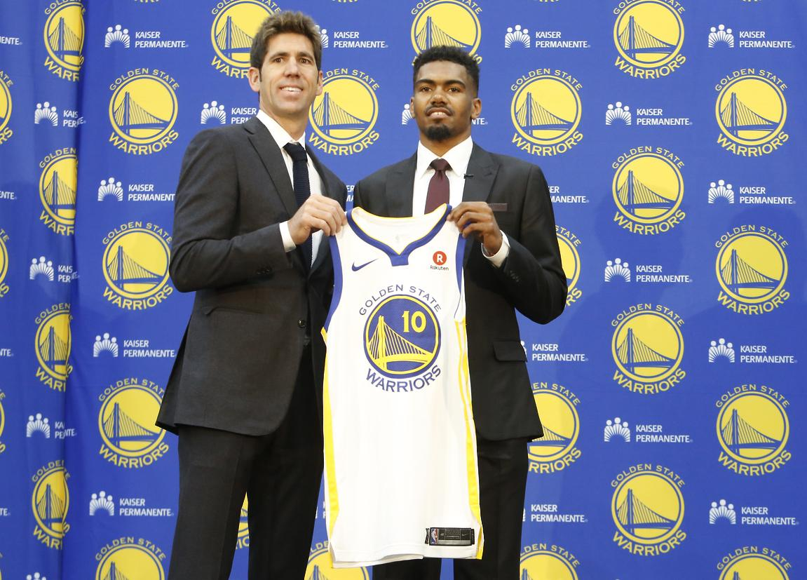 e868e810d35f Jacob Evans not taking opportunity with Warriors for granted - SFGate