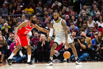 9b0436579f54 Smith  MVP Harden still needs LeBron by his side - HoustonChronicle.com