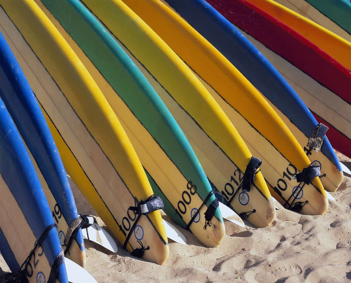 Surfboards are among the many items that have been built on the documentary series