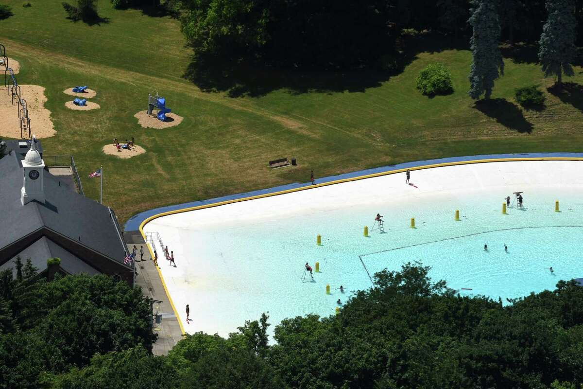 View of the Lincoln Park Pool on Monday, June 25, 2018, in Albany, N.Y. (Will Waldron/Times Union)