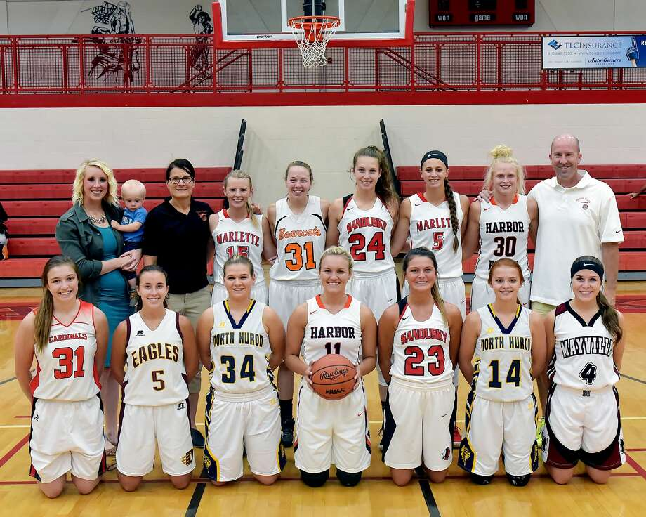 All-Thumb All-Star Girls Basketball 2018 Photo: KG Photography/For The Tribune